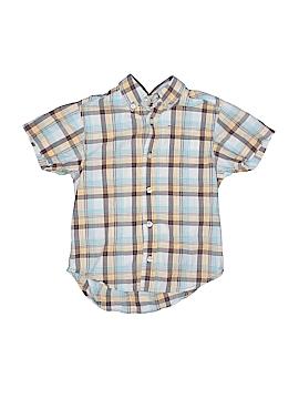 The Children's Place Short Sleeve Button-Down Shirt Size 4