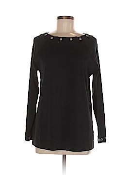 Karen Scott Sport Long Sleeve Top Size M