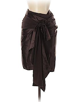 BCBGMAXAZRIA Silk Skirt Size Med - Lg