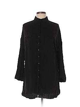 TOBI Long Sleeve Button-Down Shirt Size L