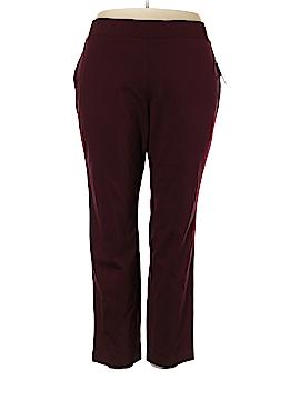 INC International Concepts Velour Pants Size 24 (Plus)