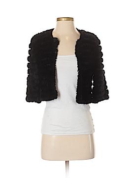 BCBGMAXAZRIA Faux Fur Jacket Size XXS