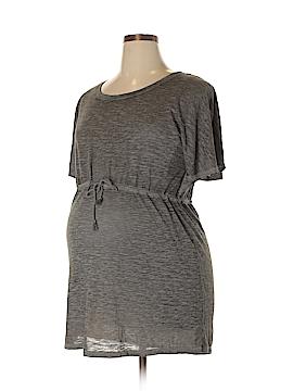 Liz Lange Maternity for Target Short Sleeve Top Size XXL (Maternity)