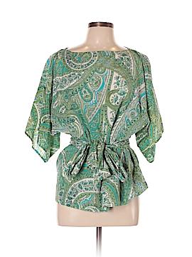Talbots Short Sleeve Silk Top Size L (Petite)