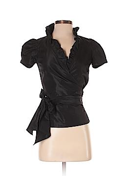 Zara Basic Short Sleeve Blouse Size XS