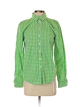 Joe Fresh Long Sleeve Button-Down Shirt Size S