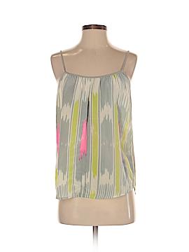 525 America Sleeveless Silk Top Size S