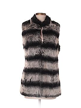 Rachel Zoe Faux Fur Vest Size XS