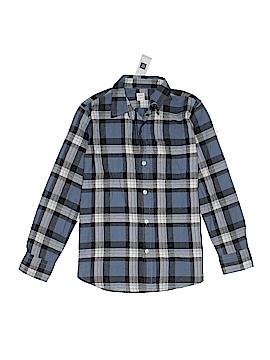 Gap Kids Long Sleeve Button-Down Shirt Size L (Youth)