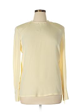 Dana Buchman Long Sleeve Silk Top Size 14