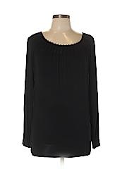 Design History Women Long Sleeve Top Size S