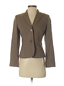 Ann Taylor LOFT Wool Blazer Size 0P (Plus)