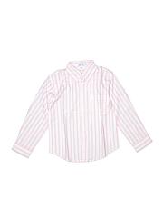 Jeanine Johnsen Girls Long Sleeve Button-Down Shirt Size 6
