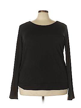 Ideology Long Sleeve Blouse Size 3X (Plus)