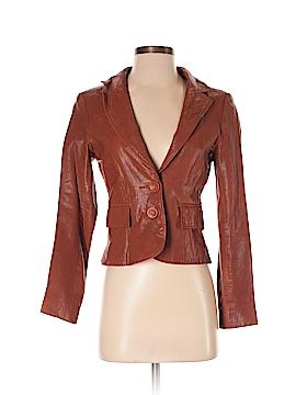Nanette Lepore Leather Jacket Size 2