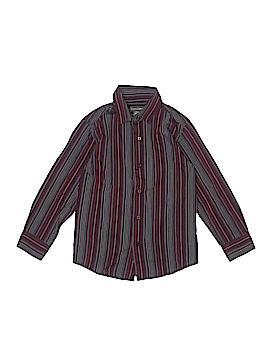 Dockers Long Sleeve Button-Down Shirt Size S (Kids)