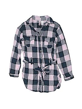 Japna Kids 3/4 Sleeve Button-Down Shirt Size 8
