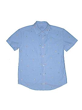 Crewcuts Short Sleeve Button-Down Shirt Size 14