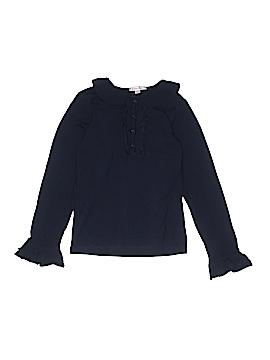 Jeanine Johnsen Long Sleeve Polo Size 12