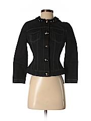 Elie Tahari Women Denim Jacket Size XS