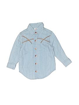 Appaman Long Sleeve Button-Down Shirt Size 18 mo