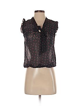 Eyelash Couture Sleeveless Blouse Size XS