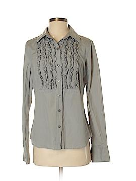 Isaac Mizrahi for Target Long Sleeve Silk Top Size M