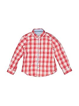 Cyrillus Long Sleeve Button-Down Shirt Size 6