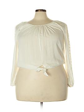 American Rag Cie Long Sleeve Blouse Size XL