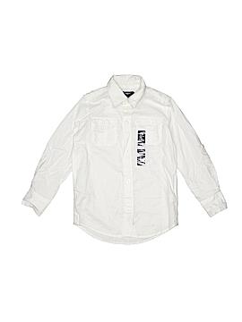 Gap Kids Outlet Long Sleeve Button-Down Shirt Size X-Small  (Kids)
