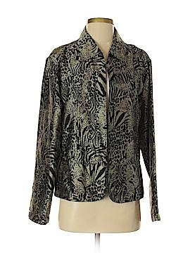 Chic Silk Blazer Size 2