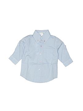 Jeanine Johnsen Long Sleeve Button-Down Shirt Size 3-6 mo
