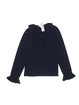 Jeanine Johnsen Long Sleeve Top Size 14