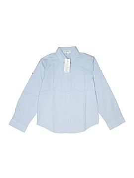 Jeanine Johnsen Long Sleeve Button-Down Shirt Size 7