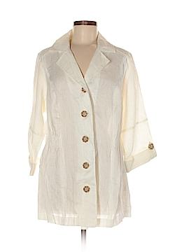 DressBarn 3/4 Sleeve Button-Down Shirt Size 14
