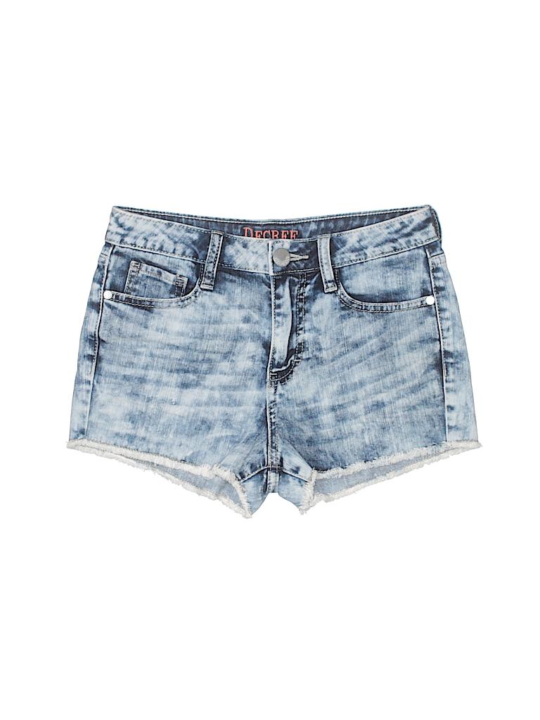 ef4f120900 Decree Tie Dye Blue Denim Shorts Size 5 - 88% off   thredUP
