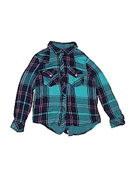 Vintage Havana Long Sleeve Button-Down Shirt Size L (Kids)