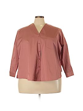 Cos Long Sleeve Button-Down Shirt Size 34 (EU)