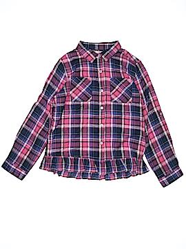 Peek... Long Sleeve Button-Down Shirt Size 12