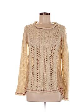 Hem & Thread Pullover Sweater Size M