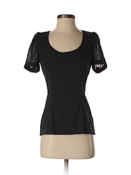Dolce & Gabbana Short Sleeve Silk Top Size 42 (IT)