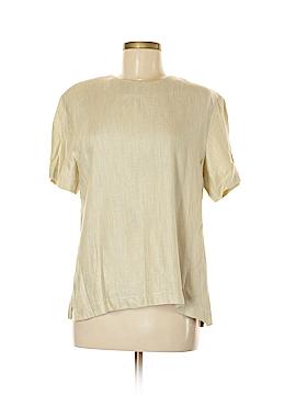 Canvas Backs Short Sleeve Blouse Size M