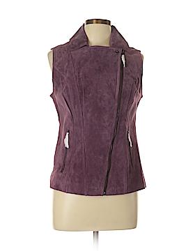 Hal Rubenstein Leather Jacket Size M