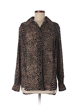 Lizwear by Liz Claiborne Long Sleeve Blouse Size M