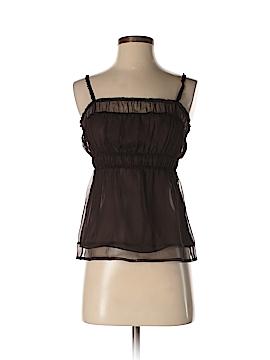 Max Azria Sleeveless Silk Top Size XS