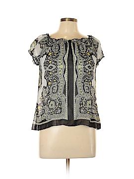 B.wear Short Sleeve Blouse Size L