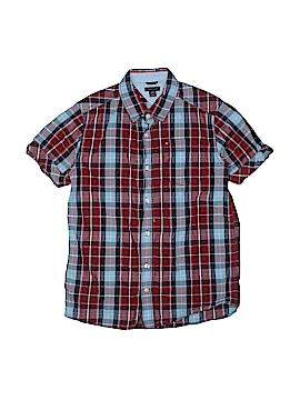 Tommy Hilfiger Short Sleeve Button-Down Shirt Size 16 - 18