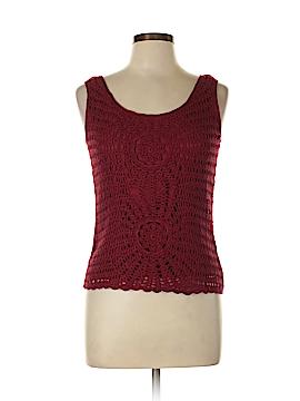 Tapemeasure Silk Pullover Sweater Size L