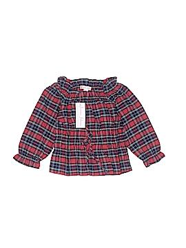 Jeanine Johnsen Long Sleeve Blouse Size 4