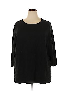 Karen Scott Pullover Sweater Size 3X (Plus)